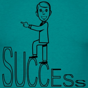 succes karriere Coming T-shirts - Herre-T-shirt