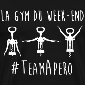 gym week end Tee shirts - T-shirt Premium Homme