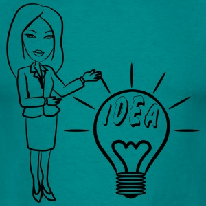 successful idea woman T-Shirts - Men's T-Shirt