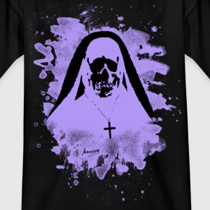 Scary Nun – violet - Teenager T-Shirt