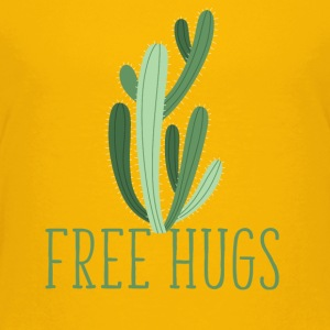 free hugs cactus T-Shirts - Teenager Premium T-Shirt