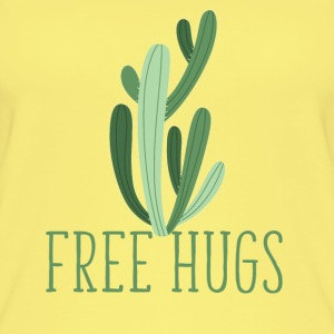 free hugs cactus Tops - Women's Organic Tank Top