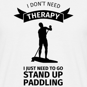 I don't neet therapy I just need to go stand up pa T-shirts - Herre-T-shirt