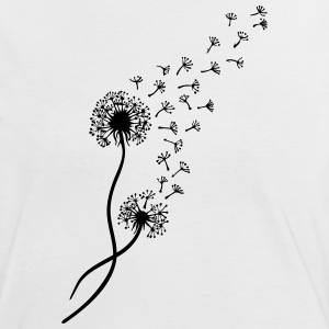 Dandelion blowball, flower, summer, garden, spring T-Shirts - Women's Ringer T-Shirt