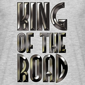 King of the Road -Black Steel - Men's T-Shirt
