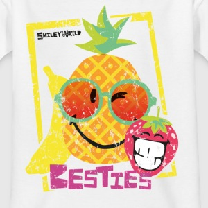 SmileyWorld 'Besties Fruits' kids t-shirt - Kids' T-Shirt