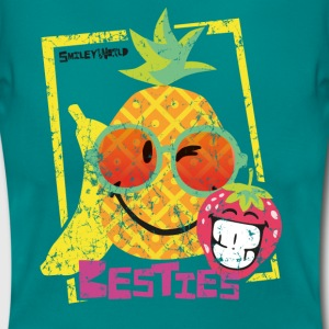 Smiley World Besties Fruits Frauen T-Shirt - Frauen T-Shirt