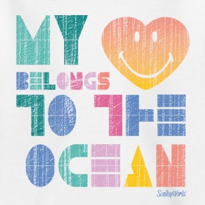 SmileyWorld 'My Heart - Ocean' teenager t-shirt - Maglietta per ragazzi