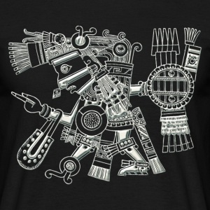 Maya God, Mexico, Warrior, DD T-Shirts - Männer T-Shirt
