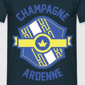 Tee Shirt France Champagne-Ardenne Fanion - T-shirt Homme