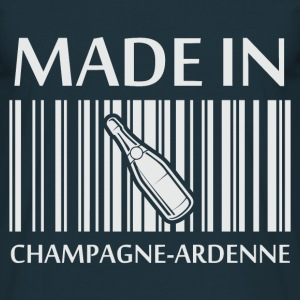 Tee Shirt France Champagne-Ardenne Made in - T-shirt Homme