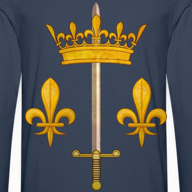 Tshirt Jeanne d'Arc manches longues Homme