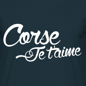 Tee Shirt France Corse Je t'aime - T-shirt Homme