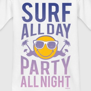 SmileyWorld 'Surf all day' Ado Tee Shirt - T-shirt Ado