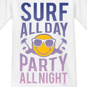SmileyWorld 'Surf all day' teenager t-shirt - Teenager-T-shirt