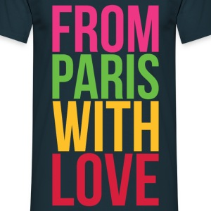 Tee Shirt France Île-de-France From Paris with lo - T-shirt Homme