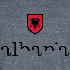 Albania - Men's V-Neck T-Shirt