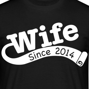Wife Since 2014 T-Shirts - Men's T-Shirt