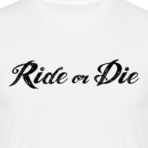 JDM Ride or Die | T-shirts JDM T-shirts - Mannen T-shirt