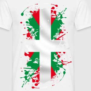 basque flag 03 Tee shirts - T-shirt Homme
