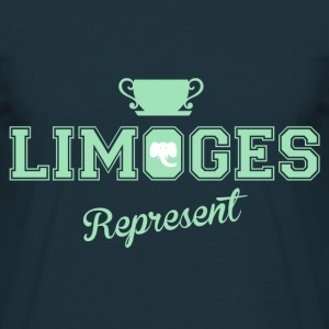 Tee Shirt France Limousin Limoges Represent II - T-shirt Homme