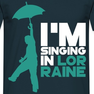 Tee Shirt France Lorraine Singing in Lor-Raine - T-shirt Homme