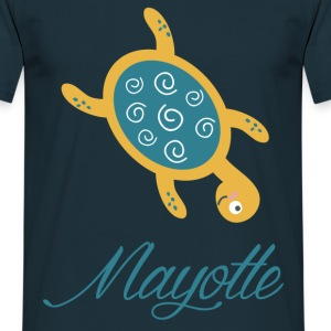 Tee Shirt France Mayotte Tortue - T-shirt Homme