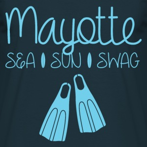 Tee Shirt France Mayotte Sea Sun Swag  - T-shirt Homme