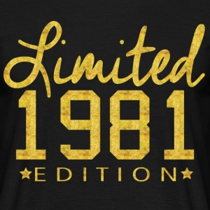 Limited 1981 Edition T-Shirts - Men's T-Shirt