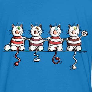 Four funny cats T-Shirts - Men's Organic T-shirt