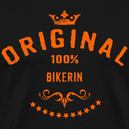Original 100 Prozent Bikerin - RAHMENLOS Beruf Ar