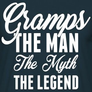 Gramps The Man The Myth The Legend T-Shirts - Men's T-Shirt