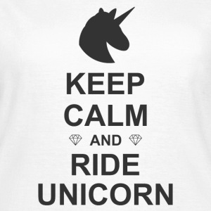 Keep Calm Unicorn Tee shirts - T-shirt Femme