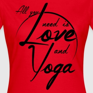 Yoga and Love T-Shirts - Frauen T-Shirt