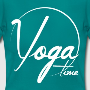 Yoga Time T-Shirts - Frauen T-Shirt