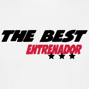 The best entrenador T-Shirts - Men's T-Shirt