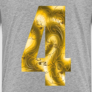 number four T-Shirts - Teenager Premium T-Shirt
