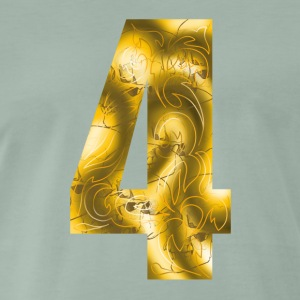 number four Tee shirts - T-shirt Premium Homme