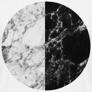 AD Monochrome Marble Moon T-Shirts - Men's T-Shirt