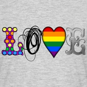 Gay Love T-Shirts - Men's T-Shirt