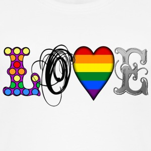 Gay Love Tops - Women's Organic Tank Top