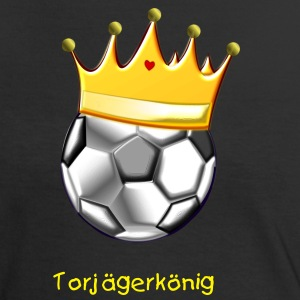 Soccer King 2 - Frauen Kontrast-T-Shirt