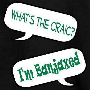 whats the craic banjaxed speech bubble Shirts - Teenage T-shirt