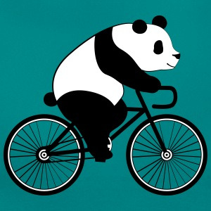Panda Bicycle T-shirts - T-shirt dam