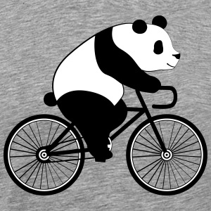 Panda Bicycle T-Shirts - Men's Premium T-Shirt