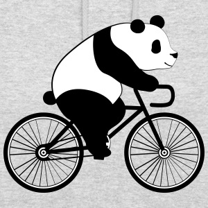 Panda Bicycle Tröjor - Luvtröja unisex