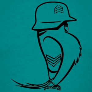 budgie funny soldier T-Shirts - Men's T-Shirt