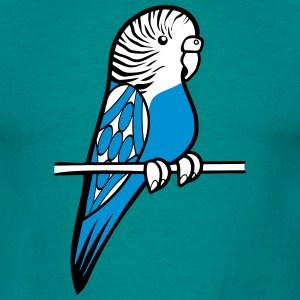 budgie bird sweet cane T-Shirts - Men's T-Shirt
