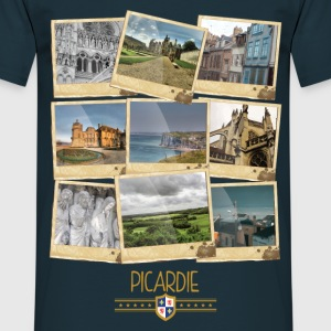 Tee Shirt France Picardie Polaroids - T-shirt Homme