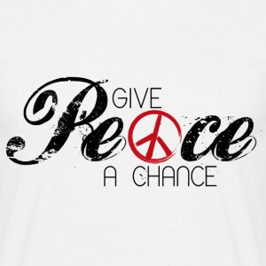 Give Peace a chance - Männer T-Shirt